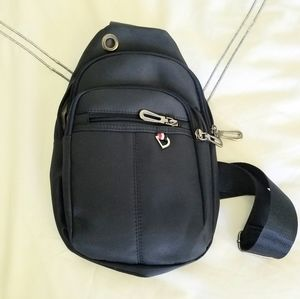 Tommy Hilfiger Smooth Navy Crossbody Back Pack